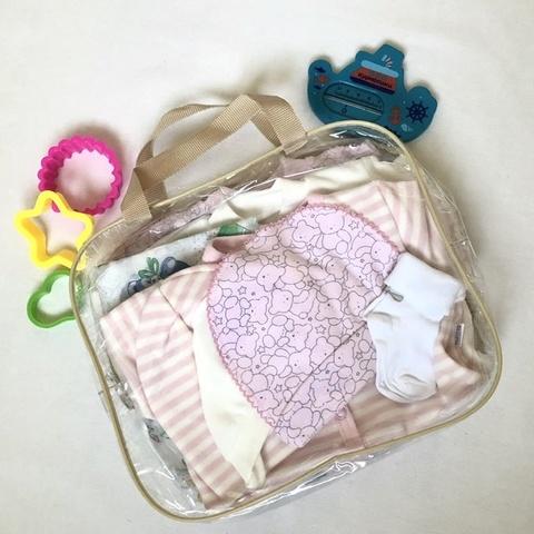 Набор одежды для новорожденных в роддом, девочка