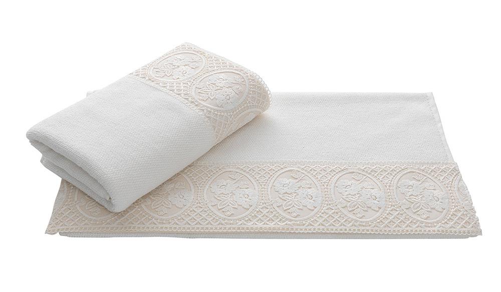 Полотенца ELIZA ЭЛИЗА полотенце махровое Soft Cotton (Турция) элиза_крем.jpg