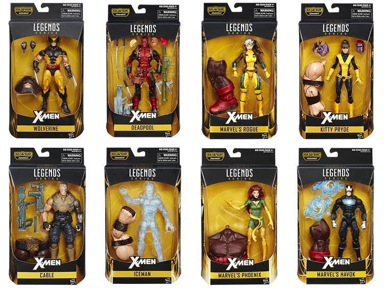 Марвел Легенд фигурки Люди Икс серия 01 упаковка