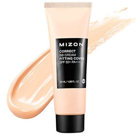 Купить BB крем Mizon Correct BB Cream Fitting Cover