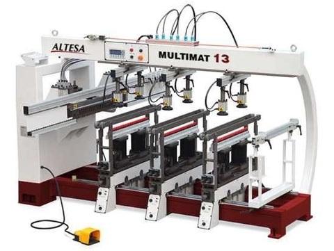 Многоблочный сверлильно-присадочный станок ALTESA MULTIMAT 13
