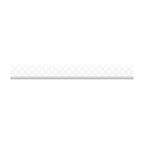 Бордюр объемный Катрин белый 13-01-1-26-41-00-1451-0 250х30х9