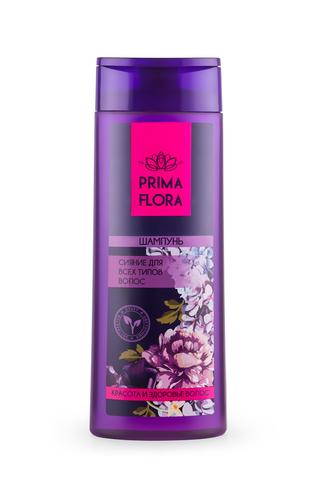 Modum Prima Flora Шампунь сияние для всех типов  волос 420г