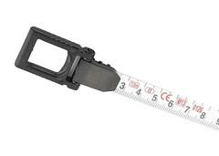 Рулетка геодезическая 10 м х 13 мм, закрытый корпус, металлическая лента, Нейлон, двусторонняя шкала Gross