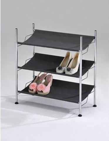 Подставка для обуви 3 полки SR 0967 хром