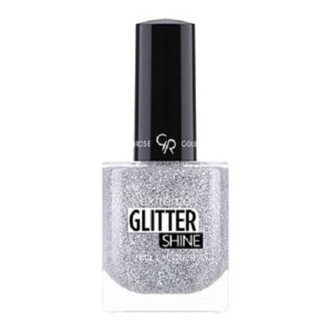 Гель-лак Glitter Shine Nail Lacquer Golden Rose, 204