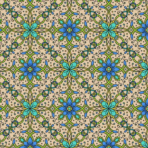 Симметричные цветы
