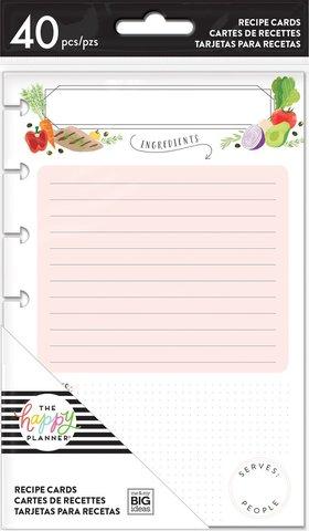 Внутренний блок для записи кулинарных рецептов -Recipe Cards-40л