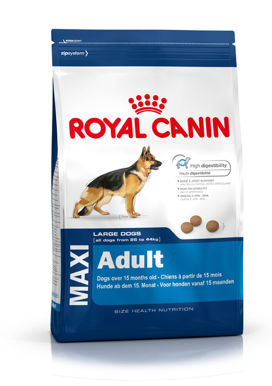 Royal Canin корм для собак крупных пород Maxi Adult 15 кг