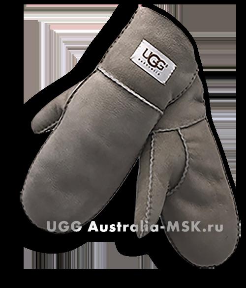 UGG Women's Glove Mittens Gray