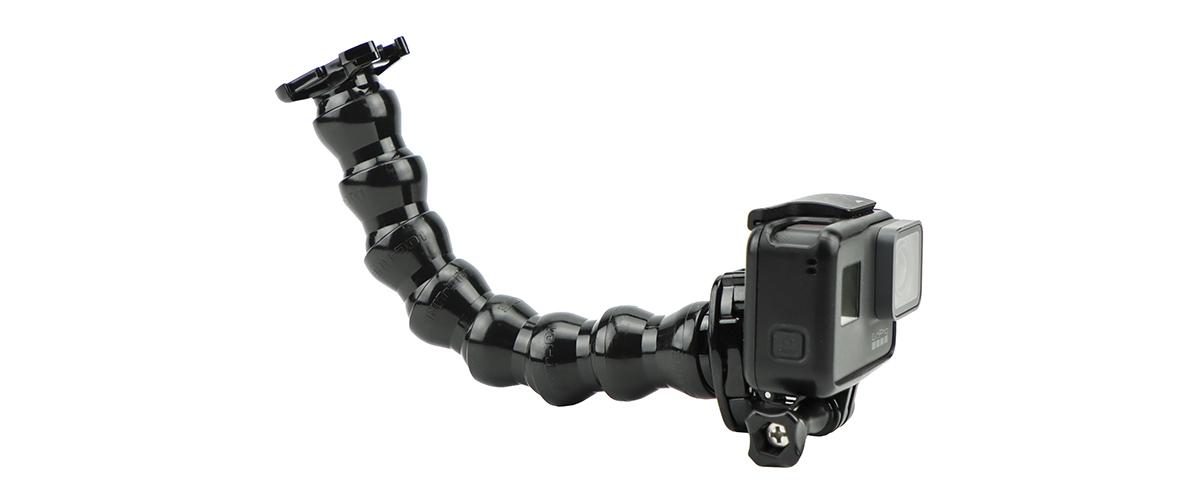 Гибкое шарнирное крепление GoPro Gooseneck (ACMFN-001) вид сбоку