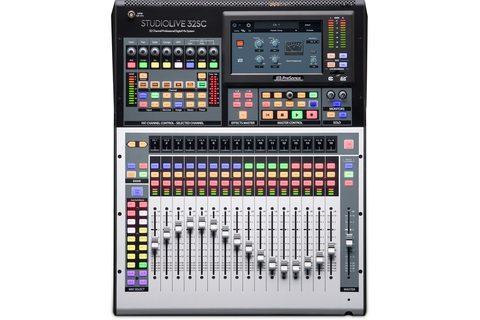 PRESONUS StudioLive 32SC цифровой микшерный пульт