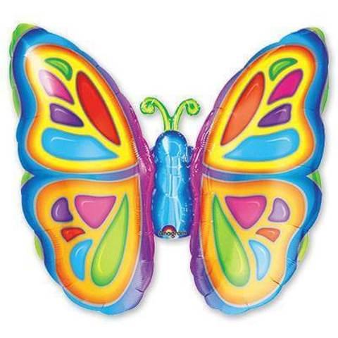 Фигура фольга Яркая бабочка