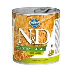 Фармина N&D Ancestral Grain 285 гр консервы для собак кабан с яблоком