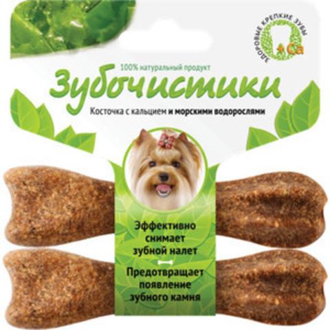 Деревенские лакомства Зубочистки авокадо для собак мелких пород со вкусом морских водорослей 2*18г