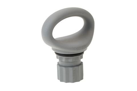 Эллипсное кольцо Rm273, серое