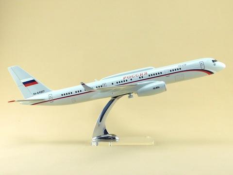 Модель самолета Ту-214ПУ (М1:100 СЛО России)