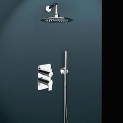 Встраиваемый смеситель для душа с душевым комплектом RS-Q K9315021 на 2 выхода