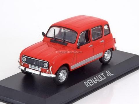 Renault 4L red 1:43 DeAgostini Masini de legenda #67