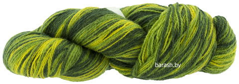 Пряжа Кауни 8/2 Yellow-green (Желто-зеленый)
