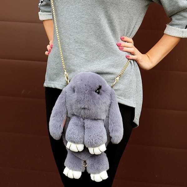 Сумка-рюкзак кролик (зайка)