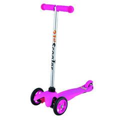 21st Scooter Детский самокат 3-х колёсный (кикборд), розовый (SKL-06A-Pink)