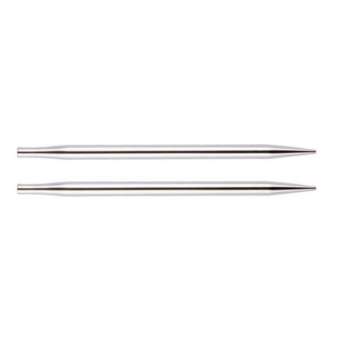 Спицы KnitPro Nova Metal съемные укороченные 3,75 мм 10423