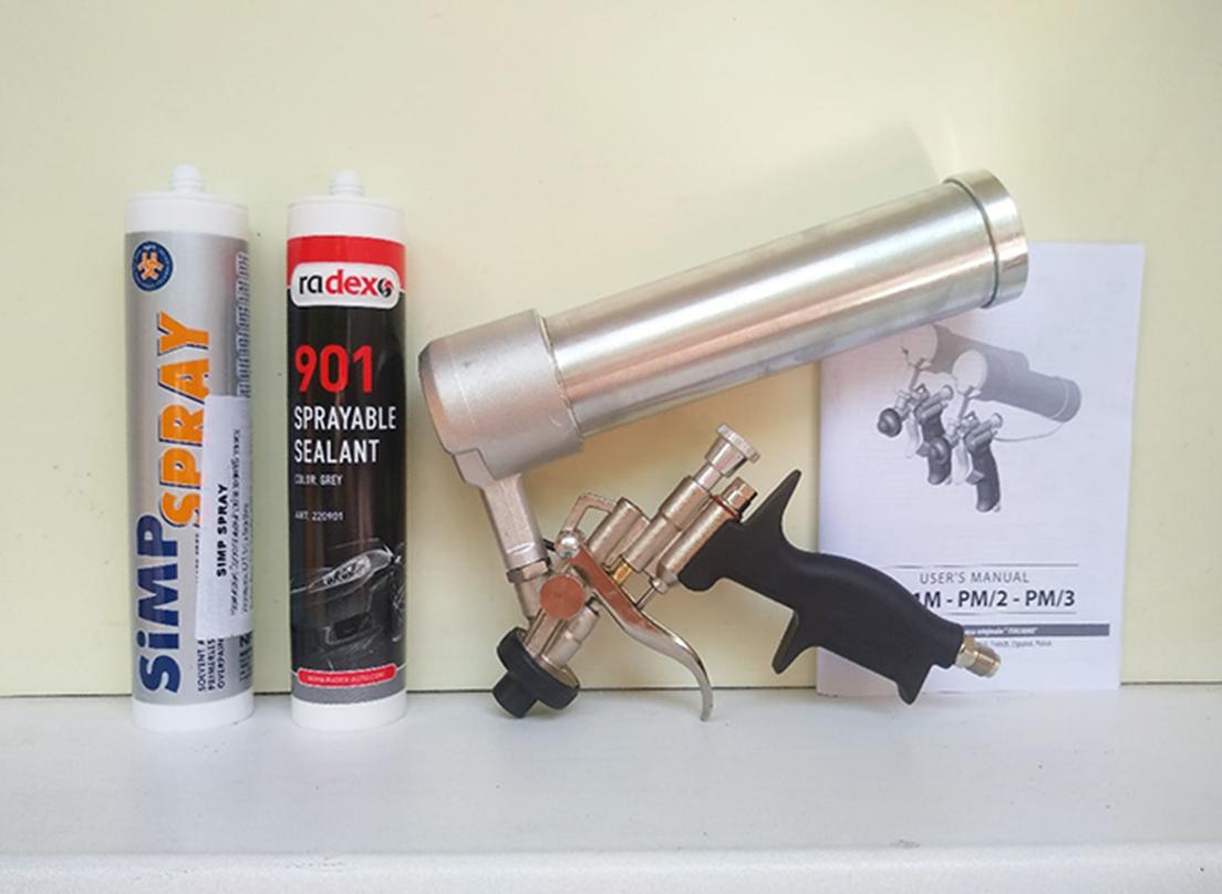 U-Seal PM3 Пневматический пистолет для распыляемых герметиков. Яндекс Маркет