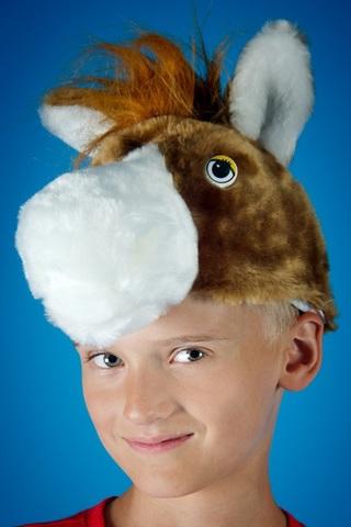 Карнавальная шапочка Лошадь