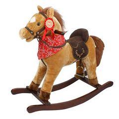 Jolly Ride Качалка меховая Лошадка (YR612)