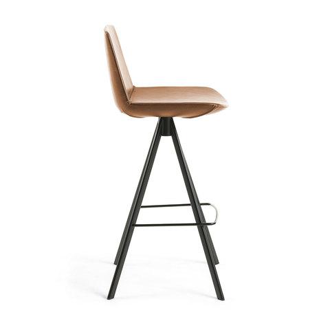 Барный стул Zast коричневый