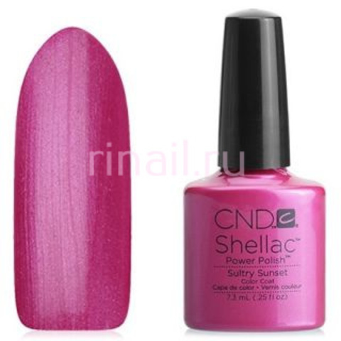 CND Шеллак 7,3 мл. sultry