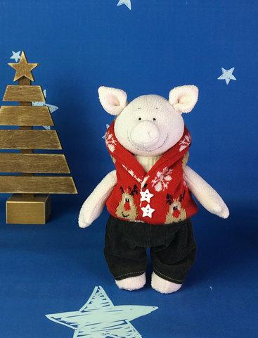 Игрушка свинка Майкл