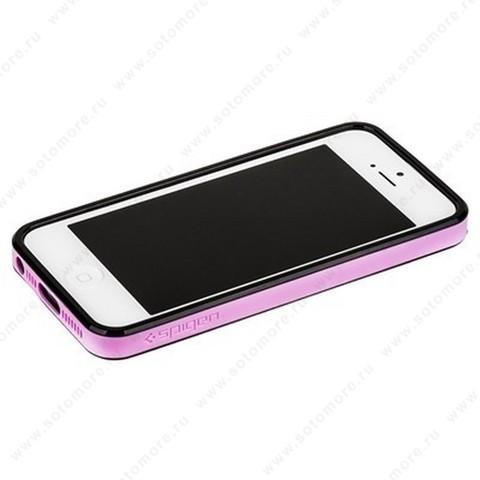 Бампер SGP для iPhone SE/ 5s/ 5C/ 5 с резиновой прокладкой вид 12