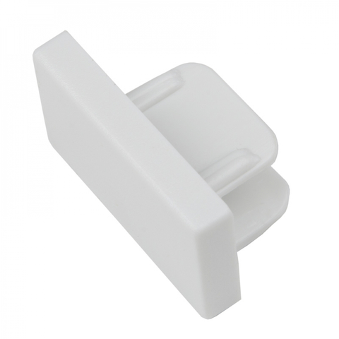 UFB-Q122 C21 WHITE 1 POLYBAG Заглушка торцевая типа G. Белая. ТМ Volpe.