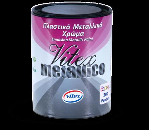 Интерьерная краска с металическим блеском Vitex Metallico