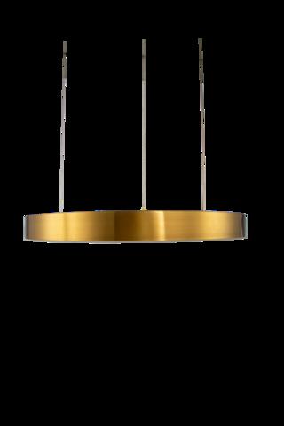 светильник Light Ring Horizontal Copper Gold