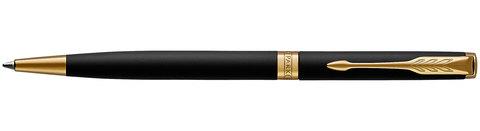 Шариковая ручка Parker Sonnet Slim Matte Black GT