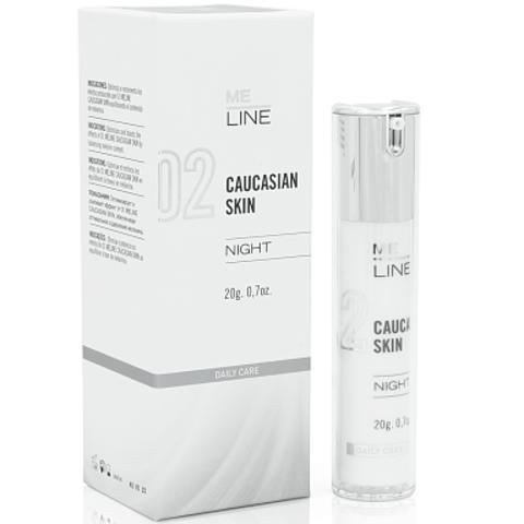 02 Ночной крем Милайн Европеоидная кожа / 02 M.E. LINE Caucasion Skin Night