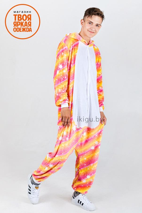 Пижамы кигуруми Огненный Единорог ogon_artem.jpg