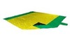 Картинка пляжное покрывало Ticket to the Moon Beach Blanket Yellow/Green