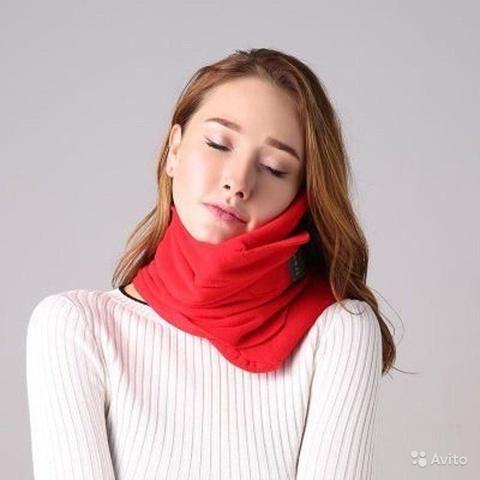Подушка шарф для путешествий Travel Pillow Unisex