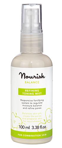 Восстанавливающий тоник-спрей для комбинированной кожи, Nourish