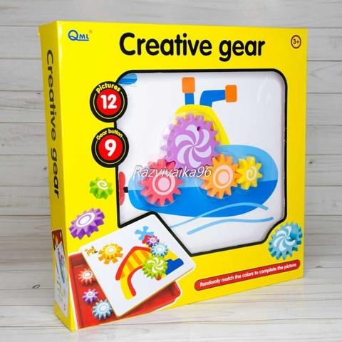 Мозаика Шестеренки Creative Gear