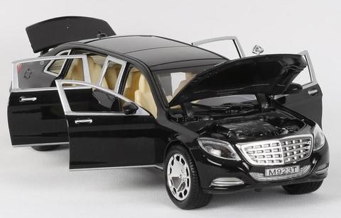 Металлическая Машина Maybach черный