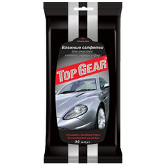 Салфетки влажные для стекол Top Gear №30