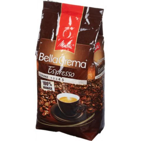 Кофе в зернах Melitta Bella Crema Espresso 100% арабика 1 кг