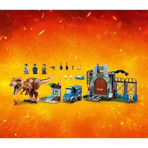 LEGO Juniors: Jurassic World — Побег ти-рекса 10758 — T. rex Breakout — Лего Джуниорс Подростки Мир юрского периода