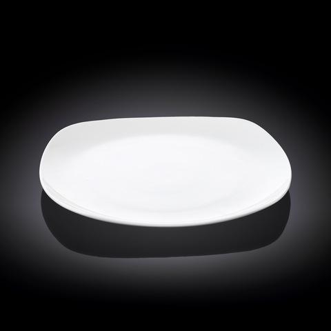 Тарелка десертная Wilmax квадратная 20 см (WL-991001)