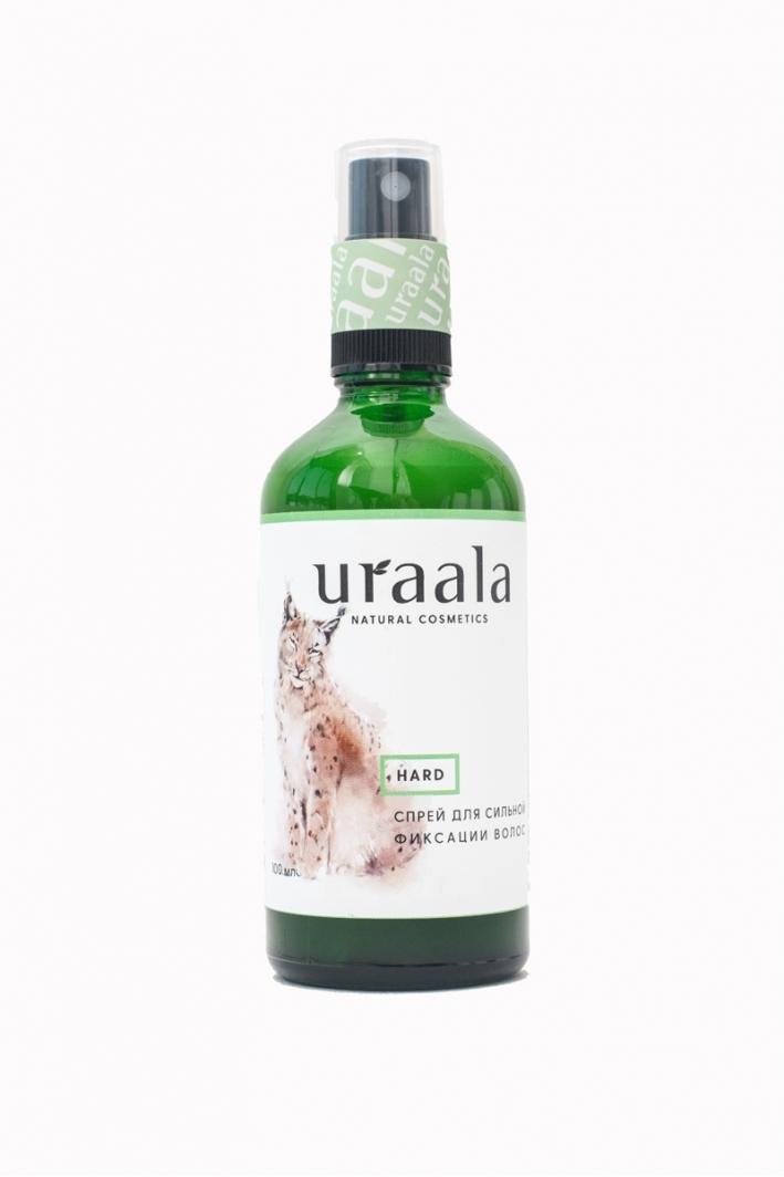 Спрей для фиксации волос Hard Ura'ala, 100мл